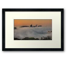 Hide and Seek #2 - Moods of A City - The HDR Experience Framed Print