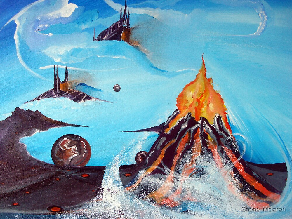 Volcanic Bliss by Shane  Mclaren