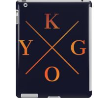 KYGO Shirt Black iPad Case/Skin
