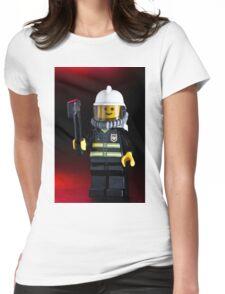 Fireman Sam Character Womens Fitted T-Shirt