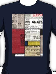 Mondrians News T-Shirt