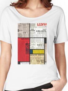 Mondrians News Women's Relaxed Fit T-Shirt