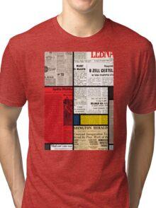 Mondrians News Tri-blend T-Shirt