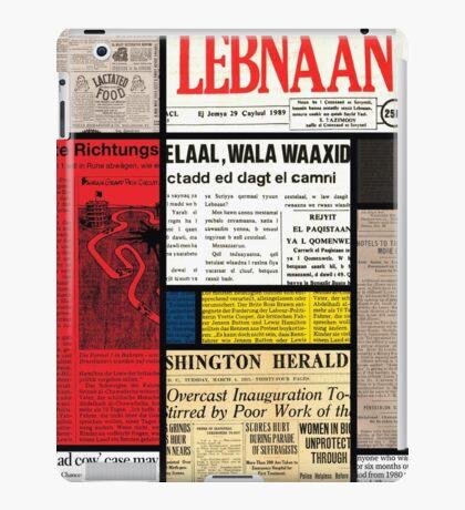 Mondrians News iPad Case/Skin