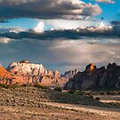 sunset at kolob plateau by peterwey