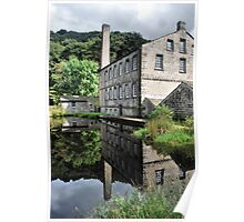 Calm as a Mill Pond Poster