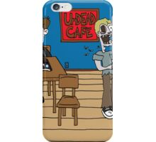 Vampires at the UnDead Cafe iPhone Case/Skin