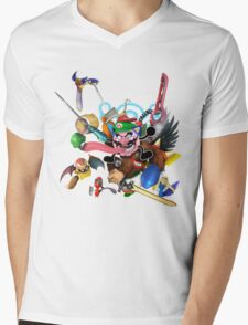 My smash main Mens V-Neck T-Shirt