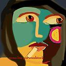 Had Mona Lisa gone to Woodstock... by Ana Johnson