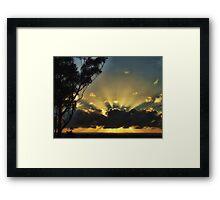 "'Morning Aura"" Framed Print"