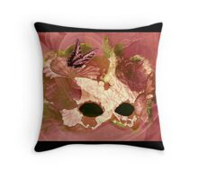 Rosey Facade Throw Pillow