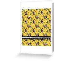 LADYBUGS YELLOW Greeting Card