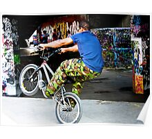 BMX Freestyler Poster