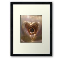 You faded my Heart.... © Framed Print
