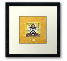 Erik Satie Framed Print