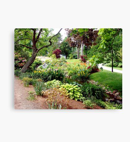 Halifax Public Gardens Canvas Print