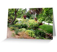 Halifax Public Gardens Greeting Card