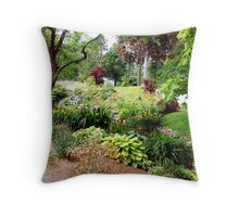 Halifax Public Gardens Throw Pillow