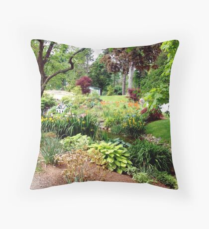Halifax Public Gardens Throw Pillow