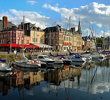 Picturesque Honfleur France by Lanis Rossi