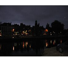 River Ouse At Night Photographic Print