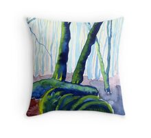 Derbyshire Woods 2 Throw Pillow
