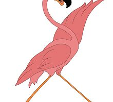 Pretty Flamingo by redqueenself
