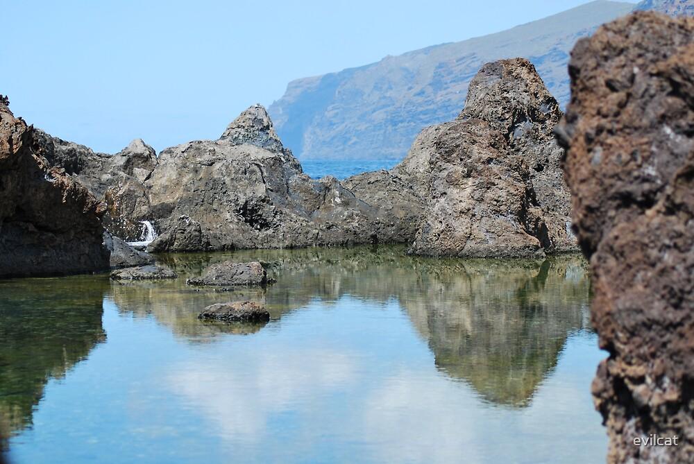 Los Gigantes Rockpool - Tenerife by evilcat