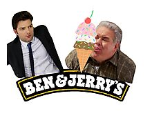 Parks And Rec Ben & Jerry's Ice Cream Photographic Print