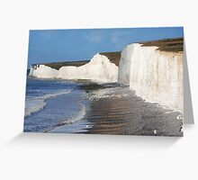 Seven Sisters, East Sussex Greeting Card