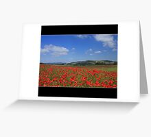 A Last Taste of Summer, Firle, Sussex Greeting Card