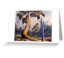 Under The Gumtree Greeting Card