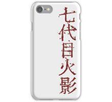 Seventh iPhone Case/Skin