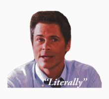 Parks and Rec Chris Traeger by lights and glowsticks