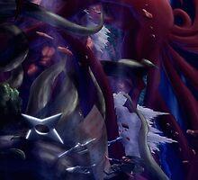 Hashirama vs Madara by JDHIFLYER