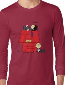 A Three Patch Problem Long Sleeve T-Shirt