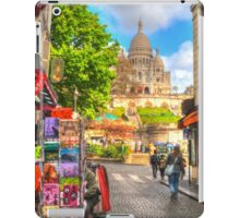 Sacre Couer .. Street View iPad Case/Skin