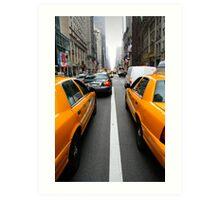 New York 3/4 Art Print