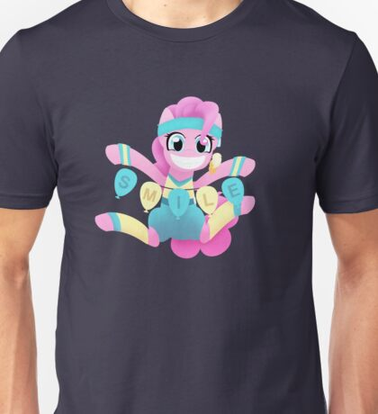Pinkie Pie Smiles for everypony Unisex T-Shirt