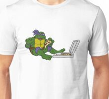 TMNT - Donatello with Pizza Unisex T-Shirt