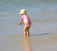 Fun in the Sun! Rainbow Beach. Queensland, by Rita Blom