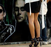 Matrix vs High-Heels by dazzleng