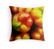 Healthy Colors Throw Pillow