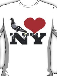 Pigeons Heart NY T-Shirt