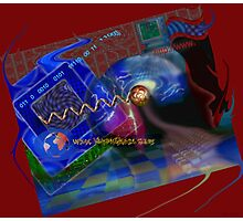 Postcard from Cyberspace Photographic Print