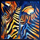 Zebras   by Carla Whelan