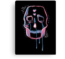 Sad Skull Canvas Print