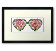 Rose Colored Glasses Framed Print