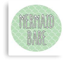 Mermaid Babe Canvas Print