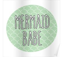 Mermaid Babe Poster